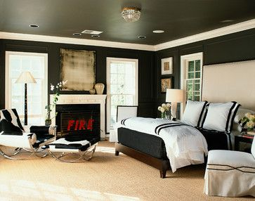 7 Ways To Get Black Paint Right In Your Home (PHOTOS)