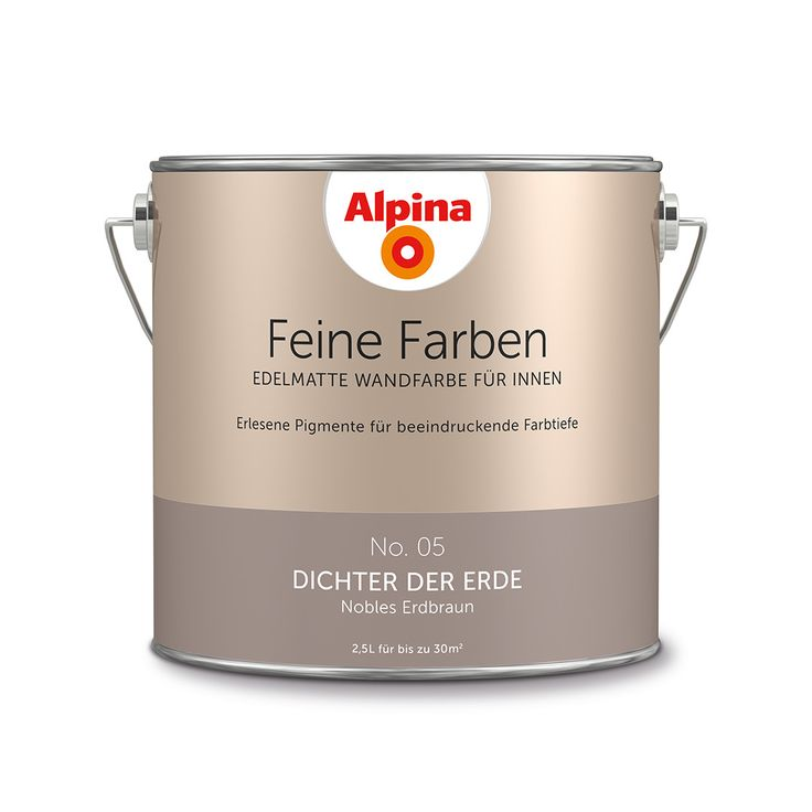310 best Alpina Feine Farben images on Pinterest Gray, Greek - gemutlichkeit interieur farben einsetzen