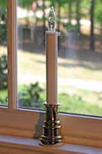 Sillites - Candle For The Window | Electric Window Candles | Flush Mount Receptacle