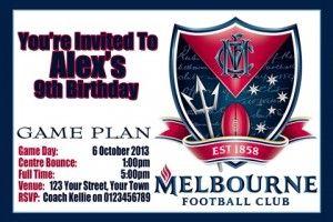 Melbourne AFL Football club 1