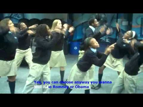 """Vote Like That"" 2012 Election Song - The Ron Clark Academy.  If only adults were as we'll informed as these kids. Teaching Fellows represent!!"