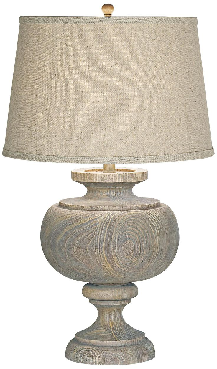 Kathy Ireland Grand Maison Grey Table Lamp -