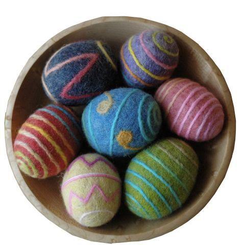 Felted Eggs Kit