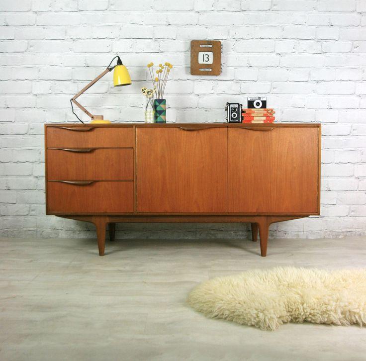 mcintosh retro vintage teak mid century danish style sideboard eames era 50s 60s ebay dream. Black Bedroom Furniture Sets. Home Design Ideas