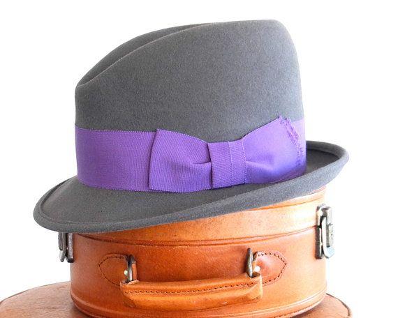 Mens Felt Fedora Hat- Felt Hat- Mad Men- The Great Gatsby- Boardwalk Empire- 1920's Men's Hat- Fall Fashion on Etsy, 1367:05kr