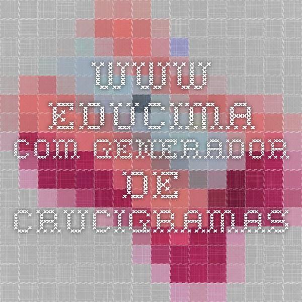 www.educima.com Generador de crucigramas