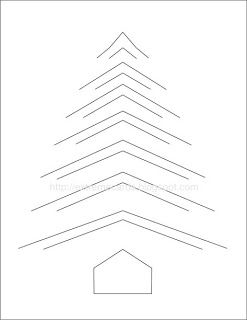 """incire technique tree.   Template in PDF, SVG or DXF.  Google the word """"incire"""" and you will find templates for more shapes for this technique."""
