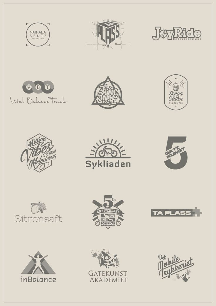Logos samples by Juan Carlos Graciano