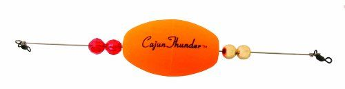 Precision Tackle 2.5-Inch Weighted Cajun Thunder Oval, Sunglow Finish - https://bassfishingmaniacs.com/?product=precision-tackle-2-5-inch-weighted-cajun-thunder-oval-sunglow-finish