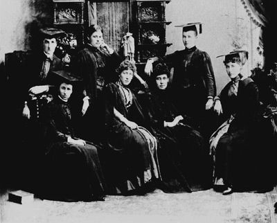 Unimelb's first female medical graduates, Grace Stone and Margaret Whyte, completed their studies in 1891 #unimelb #mms