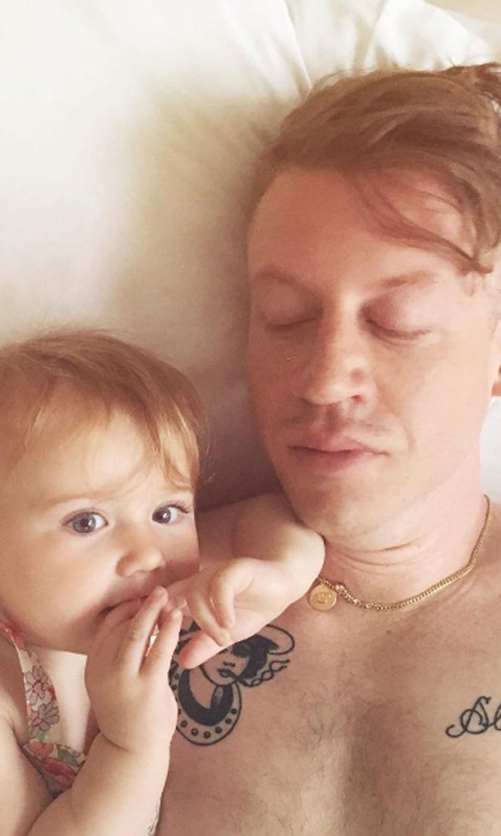 12 Celebrity Dads Who Have Sweet Tattoos For Their Kids