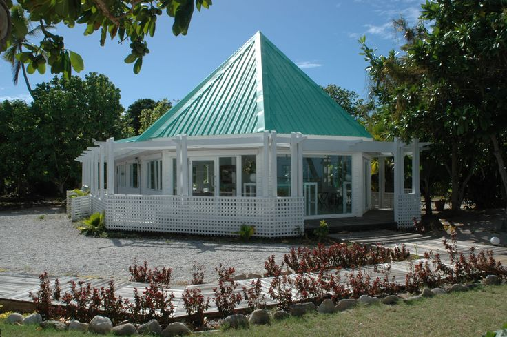 The beautiful chapel at Mana Island Resort & Spa