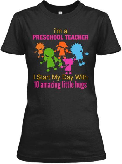 Awesome T Shirts For Preschool Teacher!   Teespring