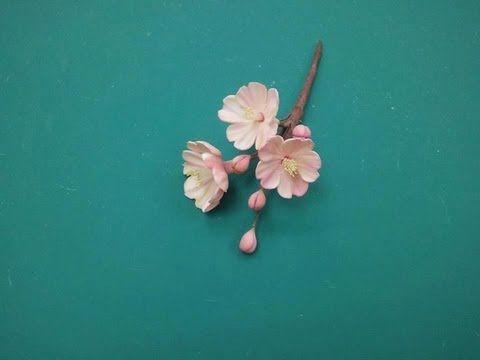 Gumpaste Hydrangea Flower Tutorial - YouTube