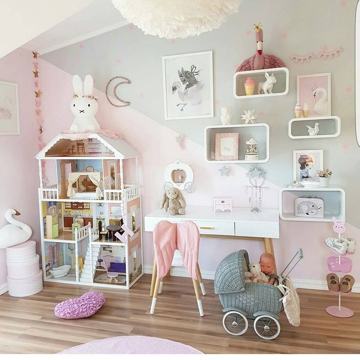 Pin de mireya schwartz de guzm n en toddler girl room for Stickers habitacion nina