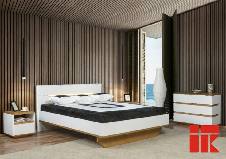Wood, natural materials  would make your bedroom more cosy. #bedroom #KloseFurniture #woodenfurniture