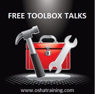 Free tool box talks