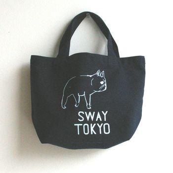 ネイビーなら落ち着いていて通勤にも良いですね! 塩川いづみさんによるイラストが人気です。