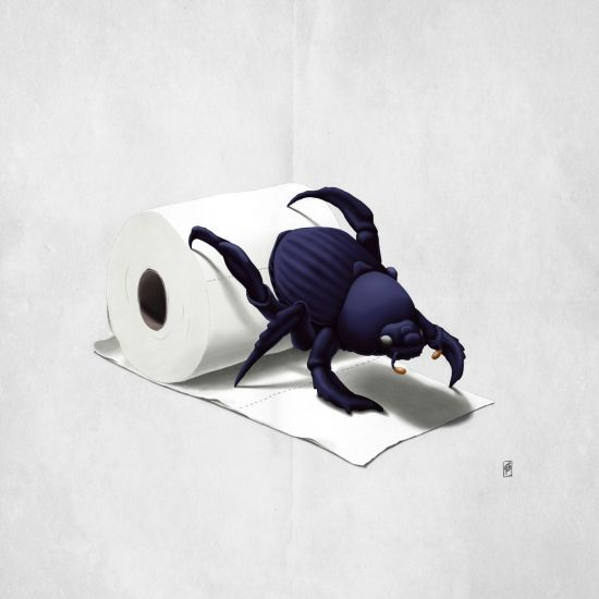 Loving this pic Shit Happens! by rob_art_animals via @mipic_app art | decor | wall art | inspiration | animals | home decor | idea | humor | gifts