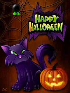 Хэллоуин стучится в дверь - анимация на телефон №1353683