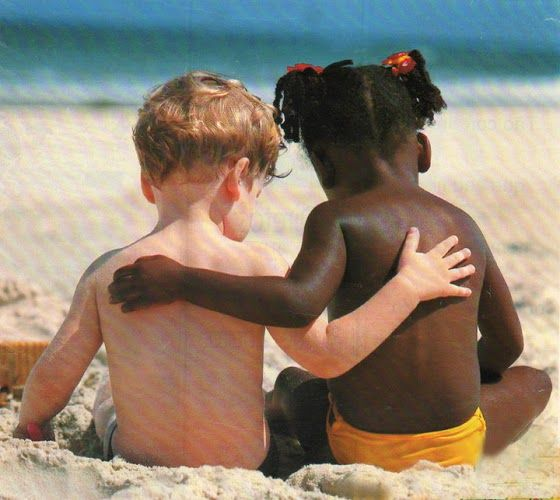 Love is natural. Teach love, not hate.