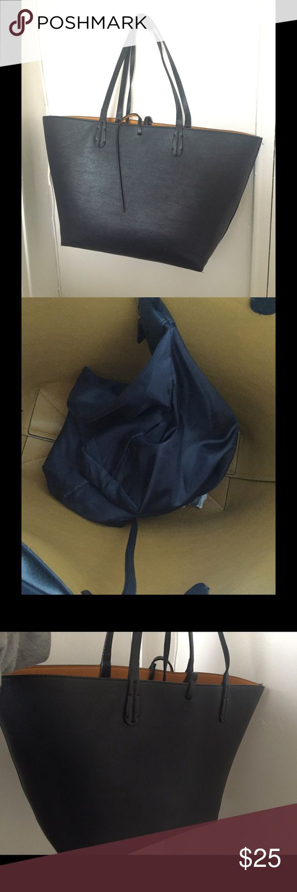 Zara tote bag Brand new bag , just a few pen marks inside Zara Bags Totes