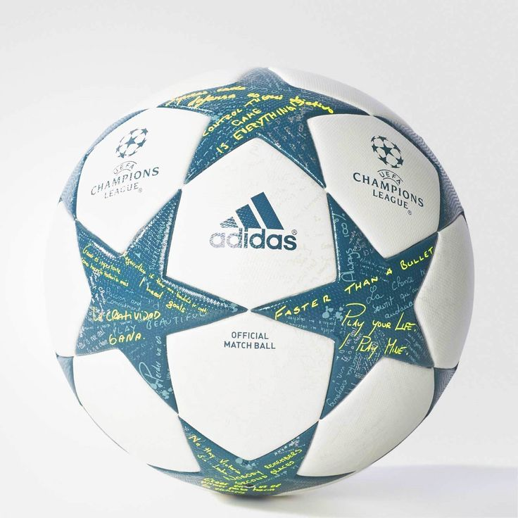 Balls 20863: New Adidas Official 2017-16 Uefa Champions League Game Match Soccer Ball Size 5 -> BUY IT NOW ONLY: $109.99 on eBay!