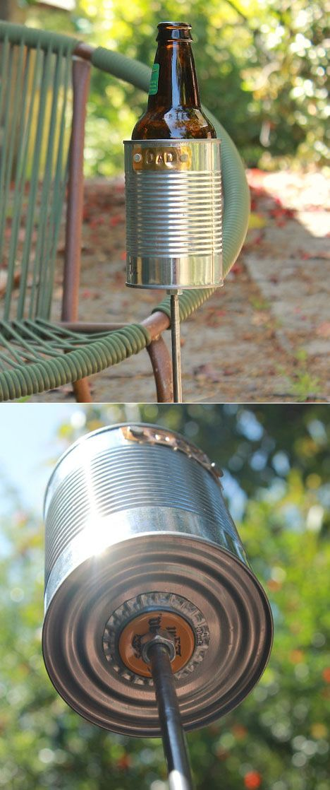 cup holder. This has so many possibilities. #DIY