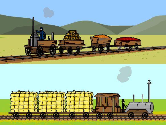 Railroad History on BrainPOP