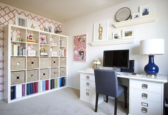 Preppy Home Office (Simplified Bee)