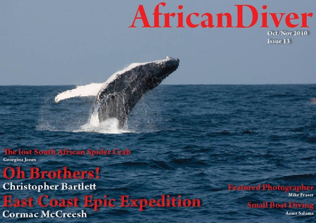 Issue 13: Download for free. http://africandiver.com/index.php/magazine/download-issues