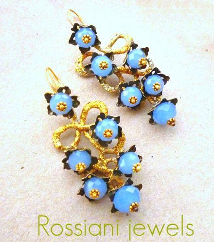 Wisteria, Colors line - calcedony - Rossiani Jewels - Italian handmade jewels - Made in Italy