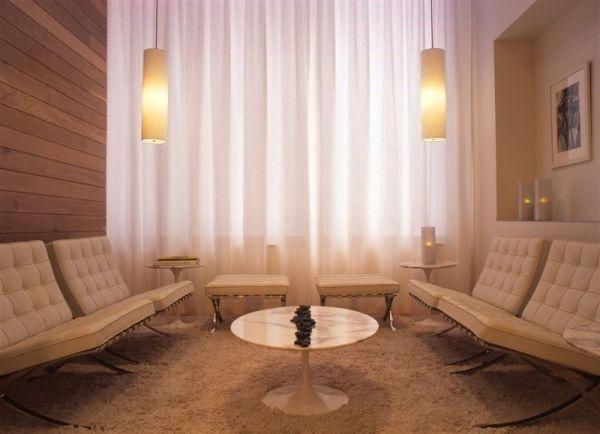 W DC Knoll Studio Barcelona Lounge Chairs 3800
