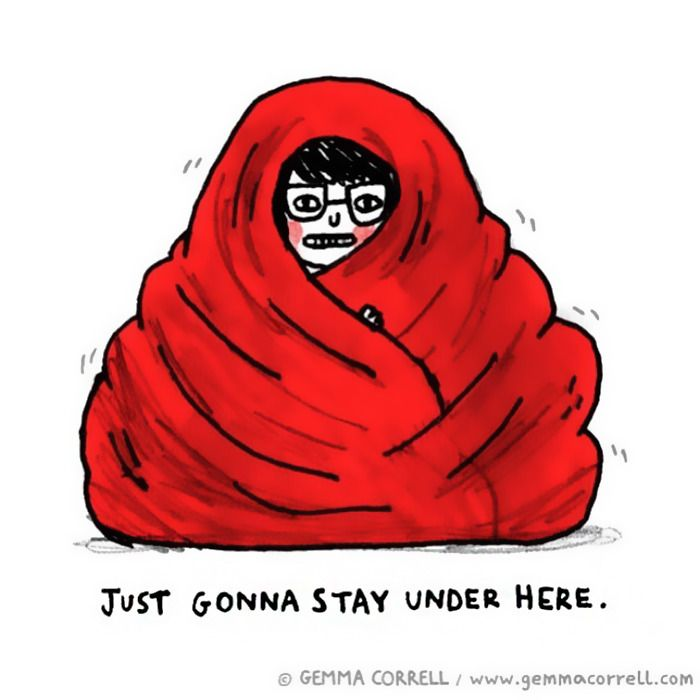 Best Lyme For Real Images On Pinterest Chronic Pain - Artist suffering from anxiety depression turns her life into funny illustrations