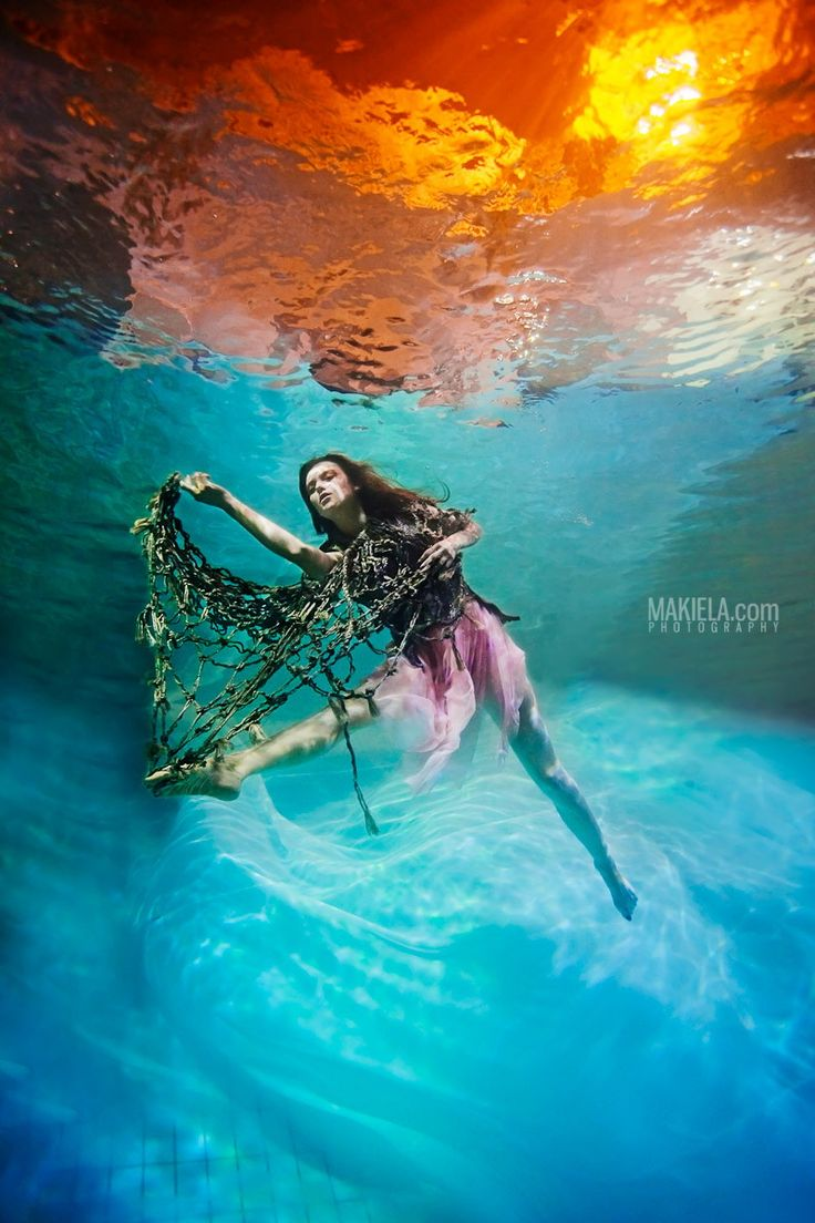 Underwater Basia by Rafal Makiela on 500px