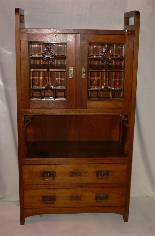 Secesní Knihovna | eAntik - Starožitnosti