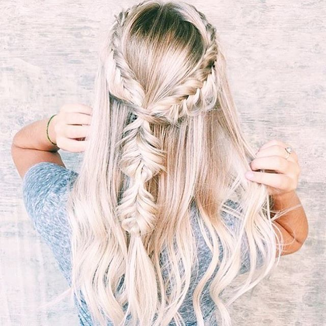 What's your formal hair goals? We are seeing so many hair trends going at the moment but a standout is the boho braid crown Do you love it or hate it? #Formal #HairGoals