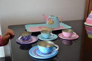 Jogo chá lojas americanas_A importancia das panelinhas e representacao da realidade_ Brinquedos Parte 3_ Mini Cozinha.