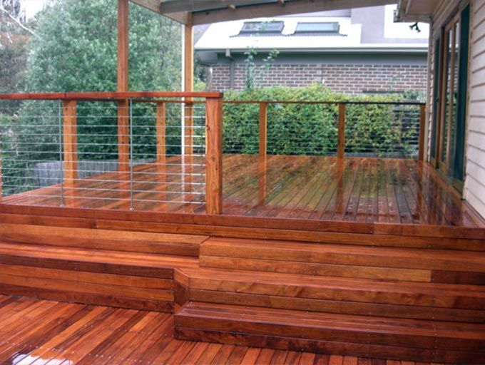 Is it best to use nails or screws for decking?