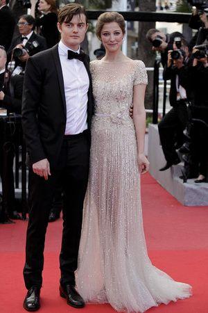 Cannes red carpet - Sam Riley and Alexandra Maria Lara