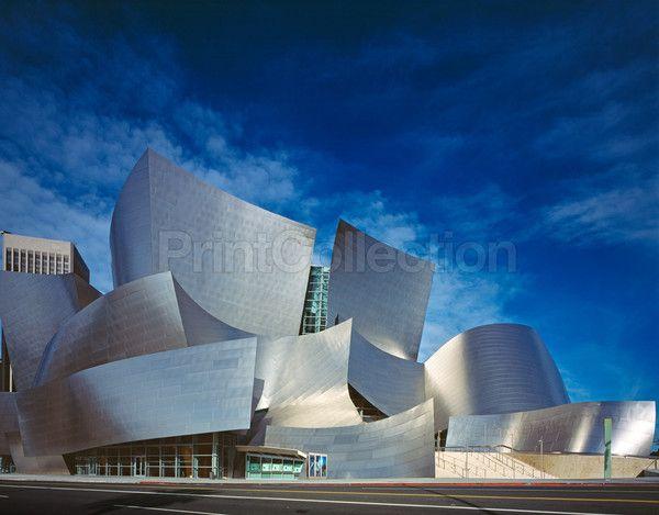 PrintCollection - Walt Disney Music Hall