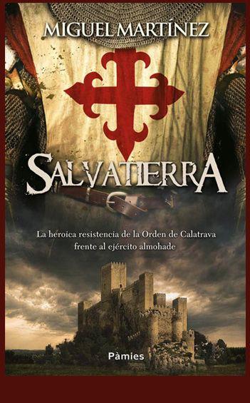Diseño e ilustración que he realizado para la cubierta de la novela histórica Salvatierra de Miguel Martínez editada en octubre de 2014 por Ediciones Pàmies