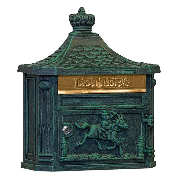 Have to have it. Salsbury Victorian Mailbox - $90.72 @hayneedle
