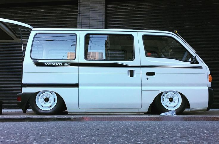 スズキ エブリィ バン / Suzuki Every Kei Van | Lowered, Slammed, JDM ( photo editing )