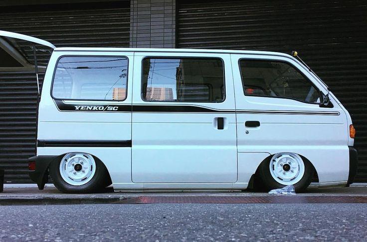 スズキ エブリィ バン / Suzuki Every Kei Van   Lowered, Slammed, JDM ( photo editing )