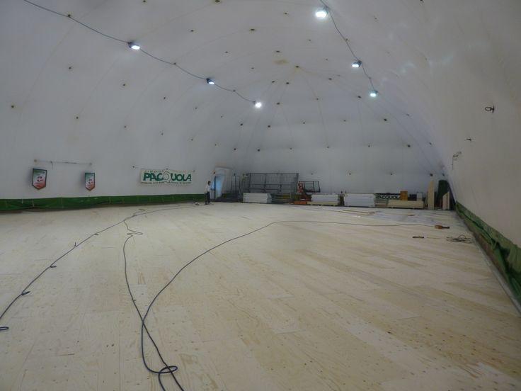 """Il """"PalaGiraffe"""" di Castelnuovo Scrivia ospita le gare interne della squadra di A2 di pallacanestro femminile"""