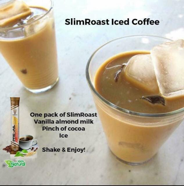 Lose weight and Be cool with Slimroast iced coffee, yum!! Cannot get any better than that!!! #weightloss #12in24 GetSlimWithCoffee.com/Janicej