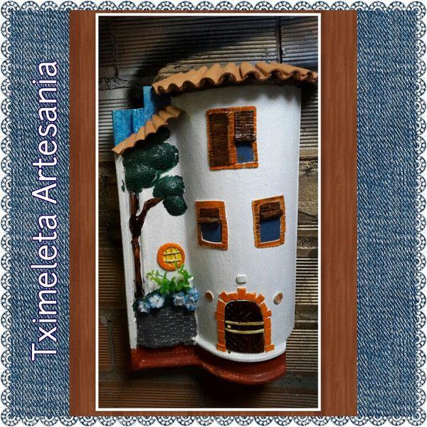 Teja en relieve doble. de Tximeleta Artesanía por DaWanda.com