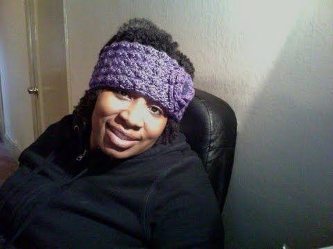 Crochet Hair Band Youtube : ... HEADBAND/EAR WARMER - YouTube Knit/Crochet Ideas Pinterest