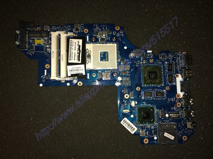698399-001 686930-001 Notebook Motherboard For Hp Pavilion M6 QCL50 LA-8711P, Free Shipping